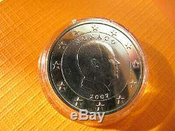1 Euro 2007 Monaco Prince Albert II Without Different Rare Unc Splendid -tres