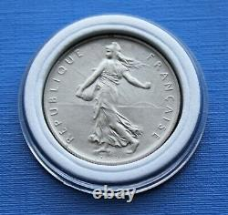 1 Franc Semeuse 1960 Gros 0 (zero) Very Rare In Spl