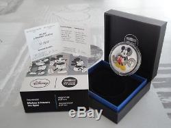10 Euros Be France 2016 Youth Series Mickey A Travers Ages Very Rare