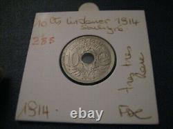 10-cent 1914 Fdc Very Rare Coin @