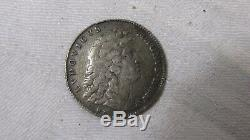 1687 Very Rare Token Ietons States Estates Of Brittany Louis XIV Silver