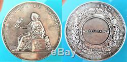 1871-defense Of The Bank Of France Silver Attributed To Bizouarne -tres Rare