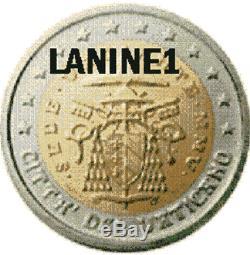 2 Euro Bu Sede Vacant 2005 Very Very Rare