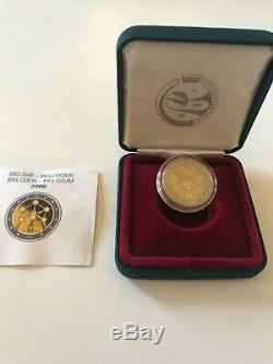 2 Euro CC Be Proof Proof Belgium 2006 Atomium Very Rare Edition 3000 Ex