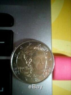 2 Euro Coin France Very Rare 2017 Simone Veil