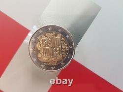 2 Euro Coin Very Rare Andorra 2018 Excellent State