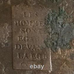 2 Floors With Scales. Saint Omer. 1793. Very Rare