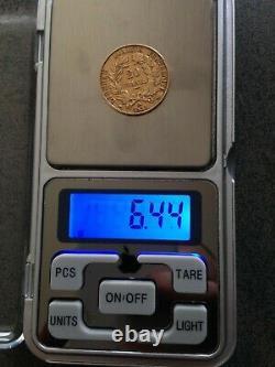 20 Franc Ceres 1851 A Ttb / Bruni Flan/ Gold Coin / Model Very Rare /