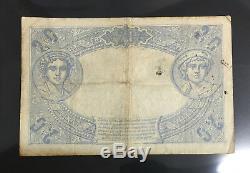 20 Francs 1912 Blue December 19 1912 Billet French Very Rare