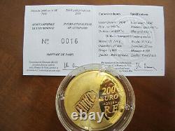 200 Euros Or Astronomy 2009 Very Rare