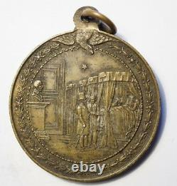 2nd Empire Very Rare Medaille Napoleon III Visiting Hopitals 1865-66