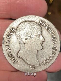 5 Francs An 12 B Rouen Very Rare 34557 Ex