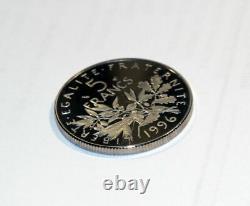 5 Francs Somuse 1996 Slice Cannelée (striée) Of The Box Be Very Rare