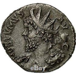 # 650578 Money, Postum, Antoninian, 268, Trier Or Cologne, Very Rare