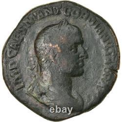 #905409 Currency, Gordian Ii, Sesterce, 238, Rome, Very Rare, Tb, Bronze, Ric1