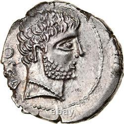 #905833 Currency, Domitius Calvinus, Denier, 38 Bc, Osca, Very Rare, Spl, Argen