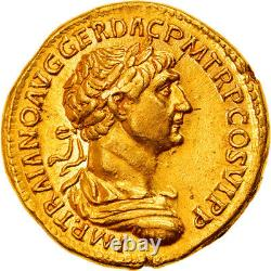 #906939 Currency, Trajan, Aureus, 113-114, Rome, Very Rare, Spl, Gold, Ric275