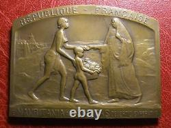Algeria Missions Of Chambers Of Commerce 1926 Very Rare Medal By Pineau