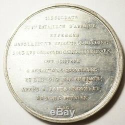 Algeria Very Rare Medal For The Defense Of Mazagran 1840 (gr. Montagny)