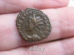 Antoninianus Tetricus Tetricus II Effigy Left (very Rare) R3 Cohen 90