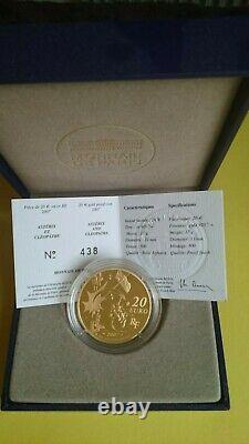 Asterix Coin Gold Coin De Paris 2007 17g Very Rare