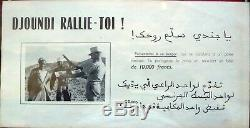 Bank Of Lalgérie And Tunisia Very Rare Ticket From Propaganda