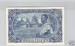 Bank Of The Republic Of Mali 1,000 Francs 22.9.1960 Pick 4 Tres Rare
