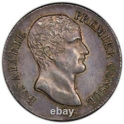 Bonaparte First Consul 5 Francs An 12 Paris Splendid Very Rare Quality