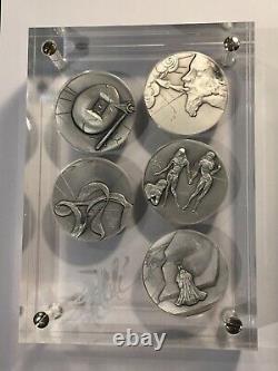 Box 5 Salvador Dali Very Rare Medals (40-23)