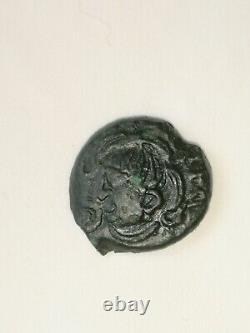 Bronze Gauls Bituriges Bn 10349 Very Rare Exceptional