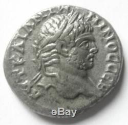 Caracalla-tres Rare Tetradrachme / Samaria / Judea