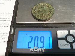 Cir1 (549) A Decime Dupre The Year 9 G & Rare Very Rare In Quality Ttb