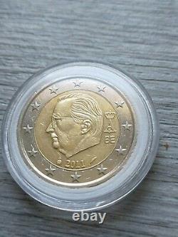 Coin Of 2 Euros Very Rare Belgian 2011