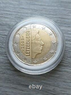 Coin Of 2 Euros Very Rare Fauté