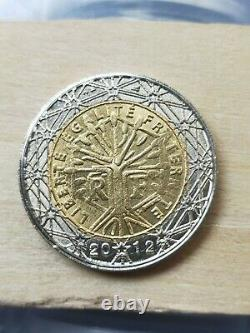 Coin Of 2 Euros Very Very Very Rare(hybrid Between 1999 And 2012)