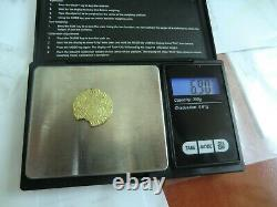 Currency, Portugal Cruzado Or Manuel I Very Rare 6.90grams