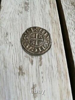 Denier Hugues I. Duke Of Burgundy. Very Rare
