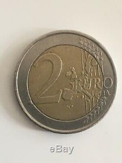 Emergency Very Rare Piece Of 2 Euros Greek Greece 2002 S Finland Very Good State