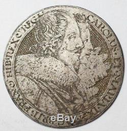 England Very Rare Play Token Simon Passe Charles I & Henriette