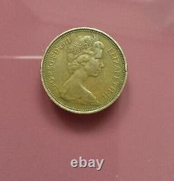 Extremely Rare! 2p New Pence Coin 1971 Good Condition