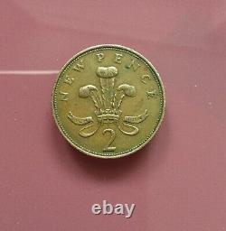 Extremely Rare! 2p New Pence Coin 1971 Very Good Condition