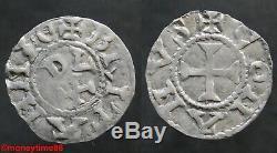 Feudal. Britain, Very Rare Denier From Conan IV Rennes Ref Pa 266, In Ttb