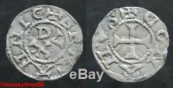 Feudal. Britain, Very Rare Denier From Conan IV Rennes Ref Pa 266 Super