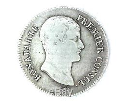 France Consulate Bonaparte 5 Francs Year 12 B Rouen Very Rare 34557 Ex