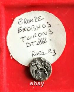 Gallic Mint #tres Rare #bronze Exobnos Turons