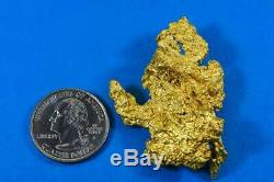 Grand Gold Nugget Australian Natural 64.76 Grams 2.08 Troy Ounces Very Rare