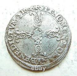 Henri IV Quarter Of Ecu 1606 R St André Very Rare