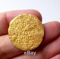 Islamic Arabic Morocco Morocco Saadian Very Rare Dinar In Gold. Abu Faris. Marakech