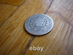 Italy Vittorio Emmanuel II 50 Centesimi 1859 Silver Bologna Very Rare