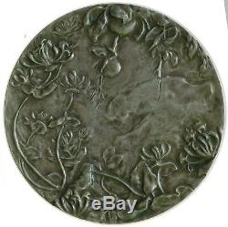 Last Price Very Rare Medal Victor Prouvé Silver